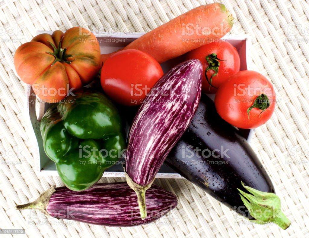 Fresh Raw Vegetables royalty-free stock photo