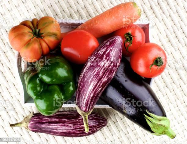 Świeże Surowe Warzywa - zdjęcia stockowe i więcej obrazów Bakłażan