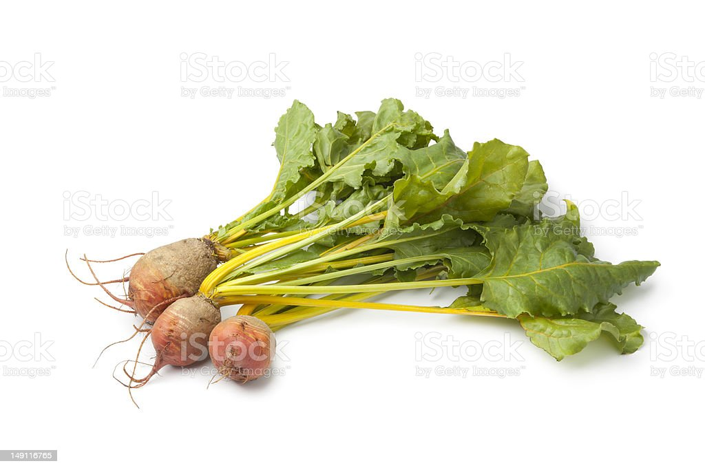 Fresh raw yellow beets royalty-free stock photo
