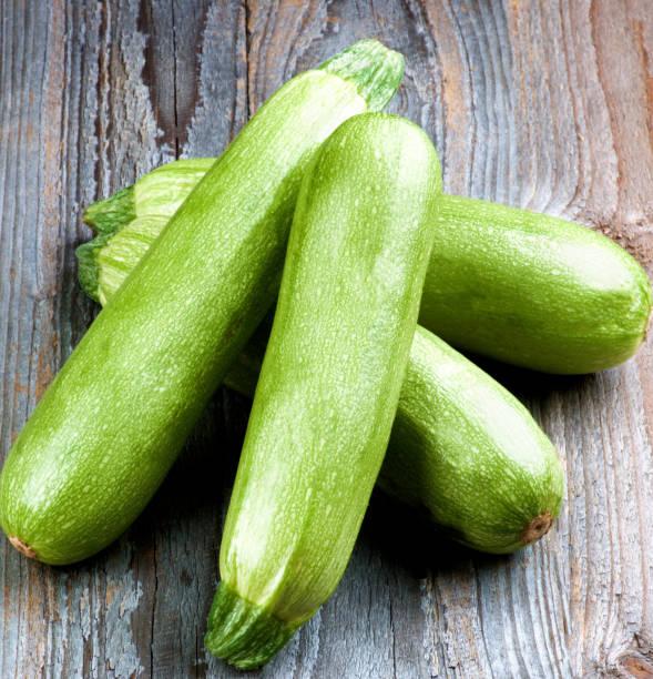 Fresh Raw Zucchini stock photo