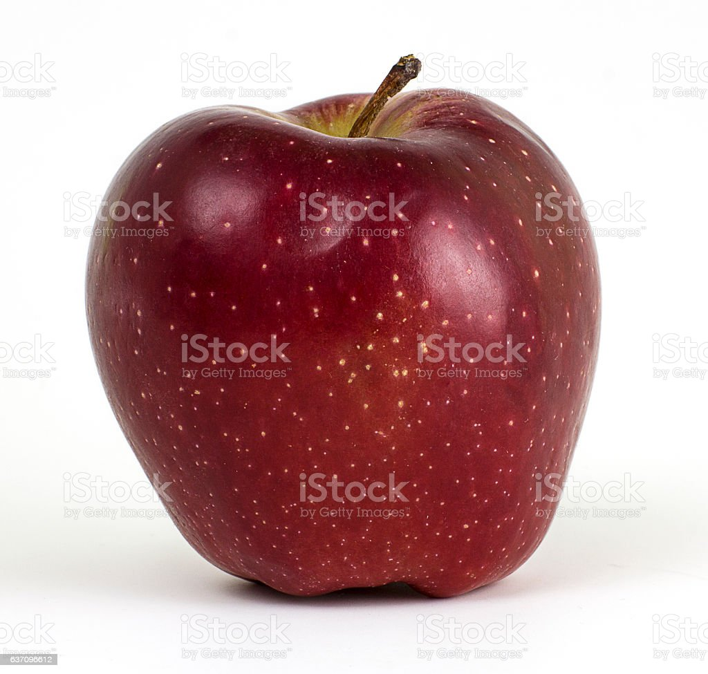 Fresh Red Apple stock photo