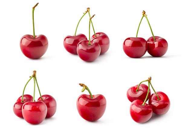 fresh red cherry - 車厘子 個照片及圖片檔
