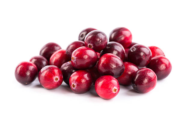 fresh red cranberries - cranberry stock photos and pictures