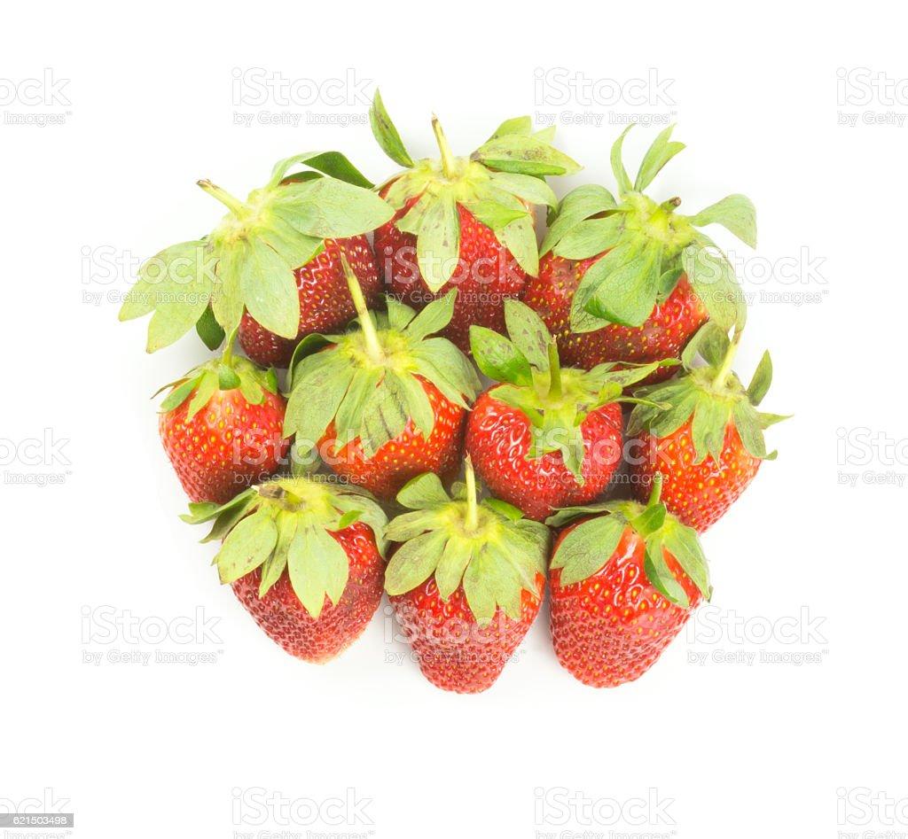 Frische Rote Erdbeeren  Lizenzfreies stock-foto