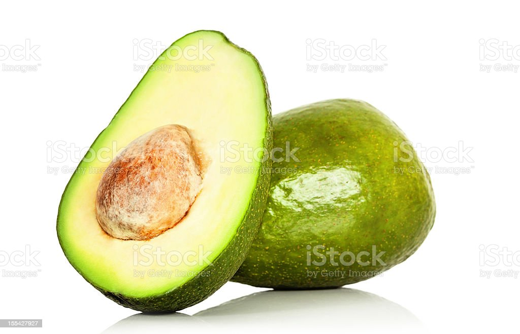 Fresh Ripe Avocados stock photo