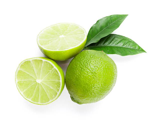 Fresh ripe limes stock photo