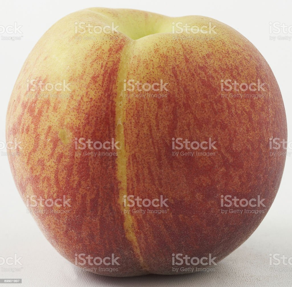 fresh ripe peach royalty-free stock photo