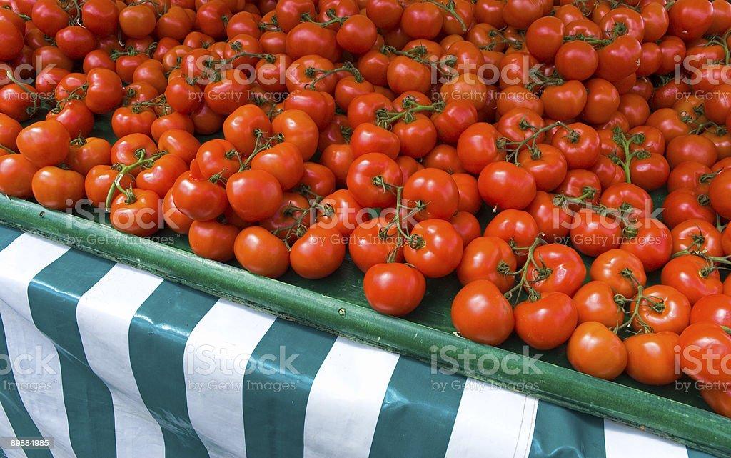 Fresh Ripe Tomatoes royalty-free stock photo