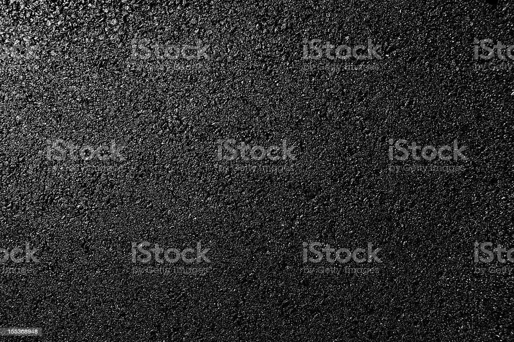 Fresh rolled asphalt stock photo
