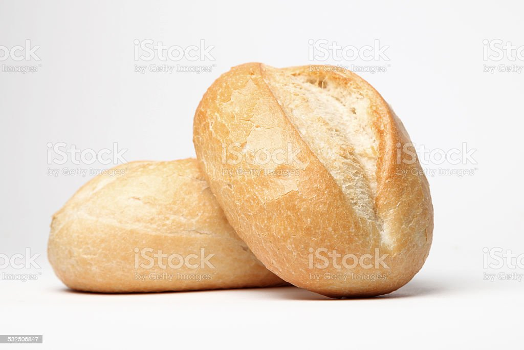 fresh rolls stock photo