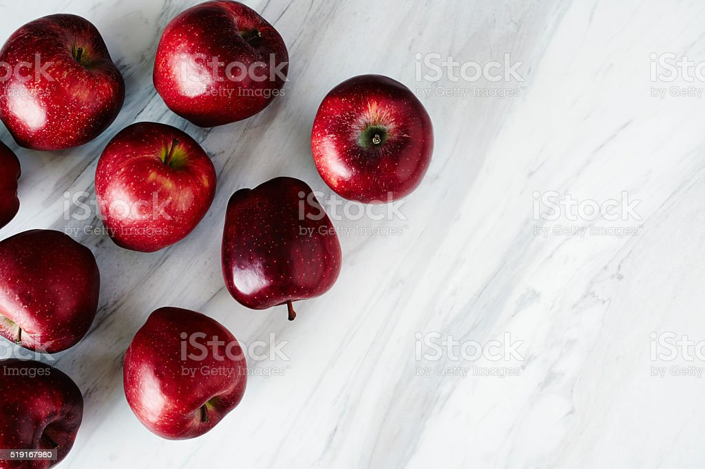 Fresh Royal Gala Apples stock photo
