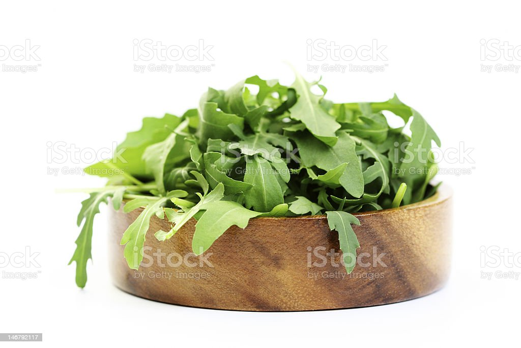 fresh rucola royalty-free stock photo