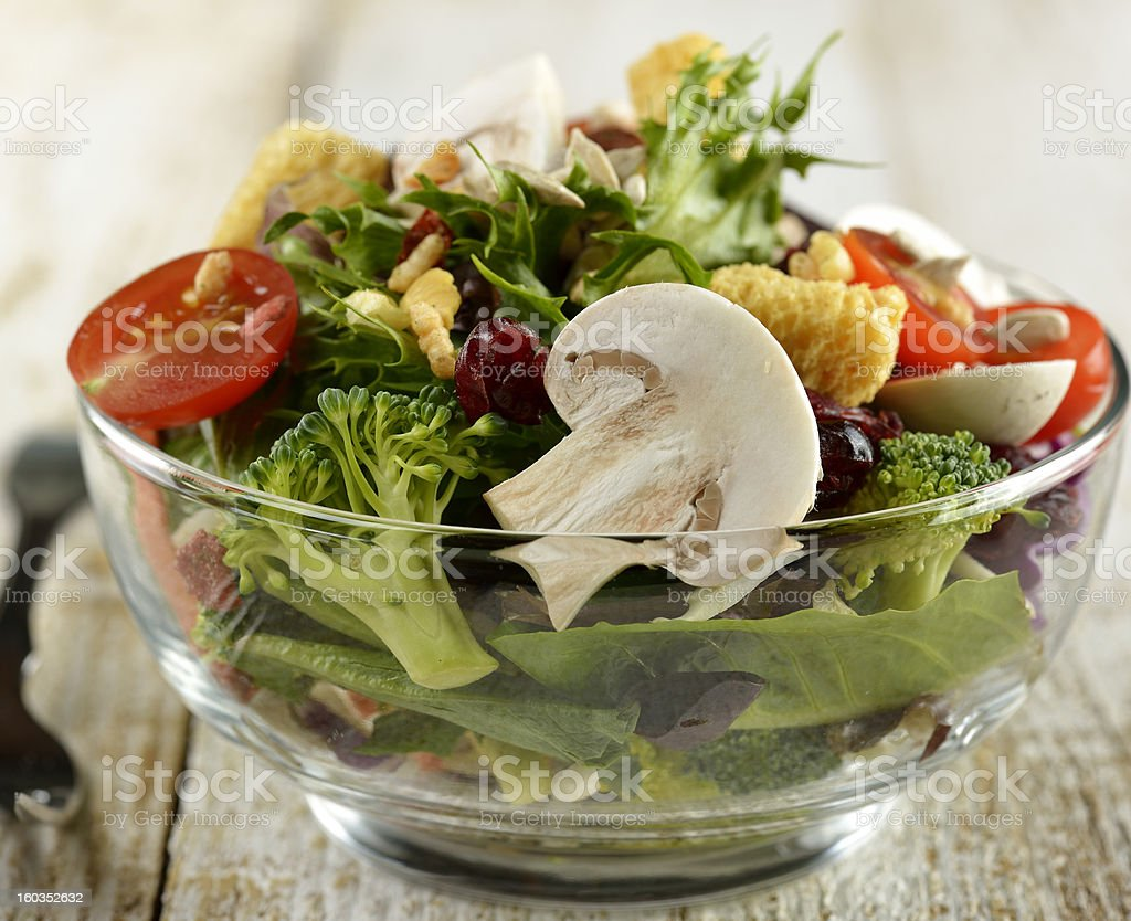 Fresh Salad Bowl royalty-free stock photo