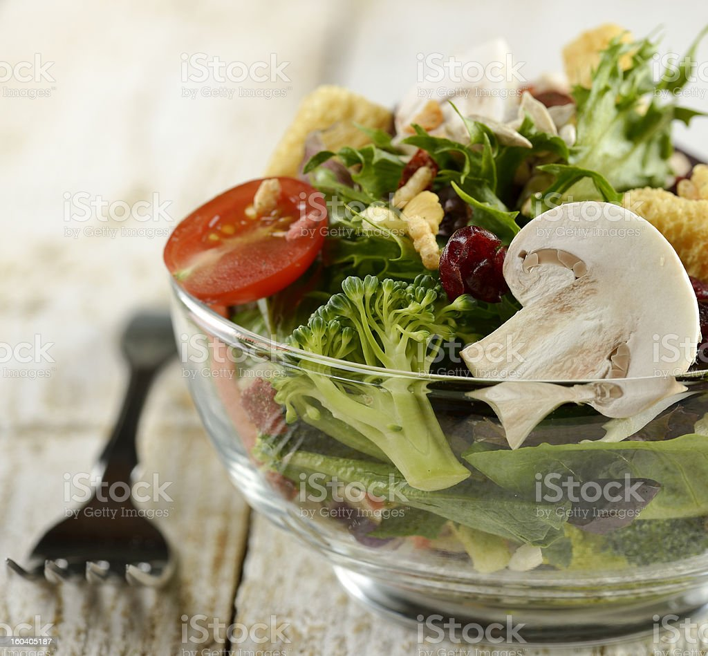 Fresh Salad Bowl royalty-free stock photo