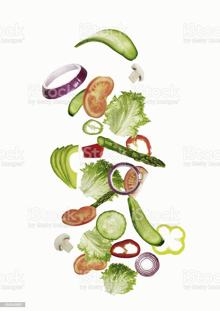 Frischer Salat Zutaten – Foto