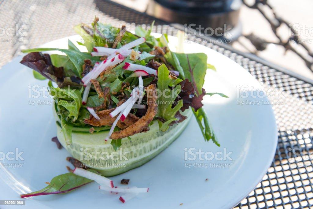 新鮮的沙拉 免版稅 stock photo