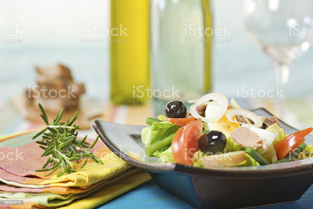 Fresh salad royalty-free stock photo