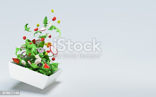 istock Fresh salad, tomatoes,  summer diet, vegetables 879977148