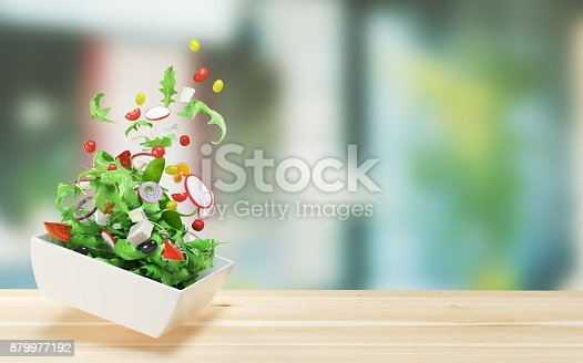 istock Fresh salad, tomatoes,  summer diet, vegetables 879977192