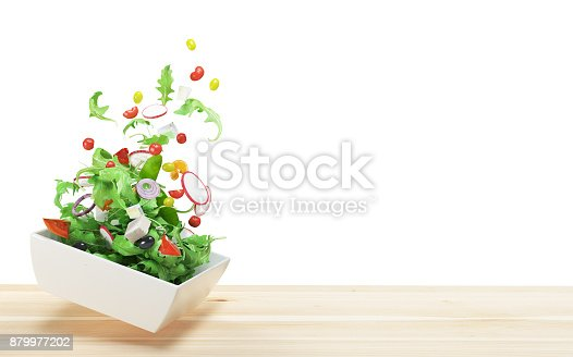 istock Fresh salad, tomatoes,  summer diet, vegetables 879977202