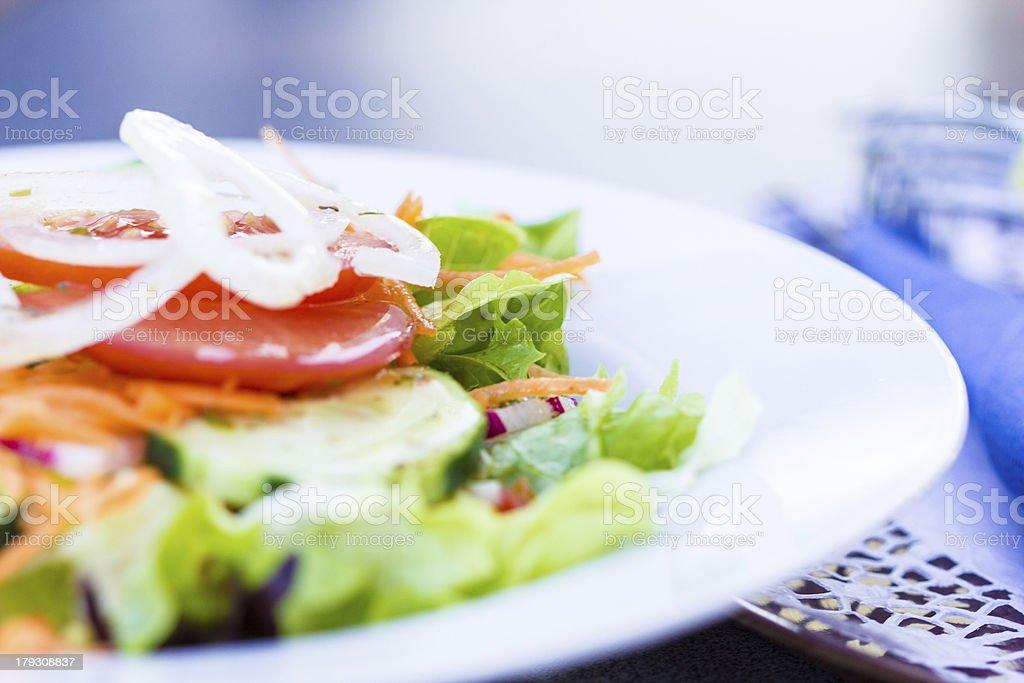 Fresh salat royalty-free stock photo
