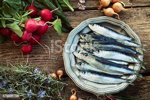 istock Fresh sardines 476335756