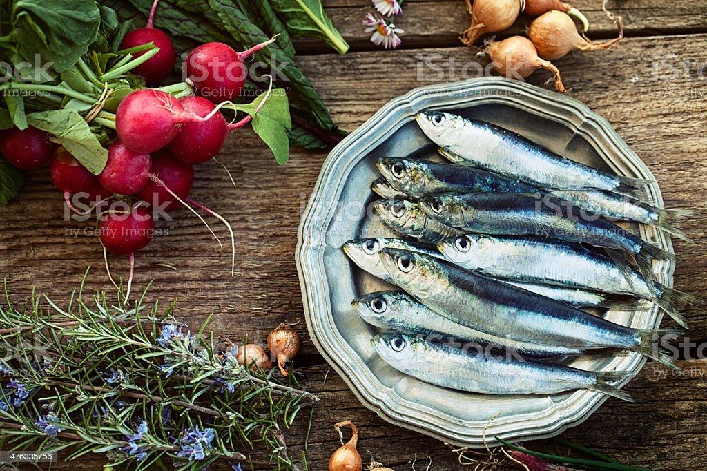 Frais des sardines - Photo