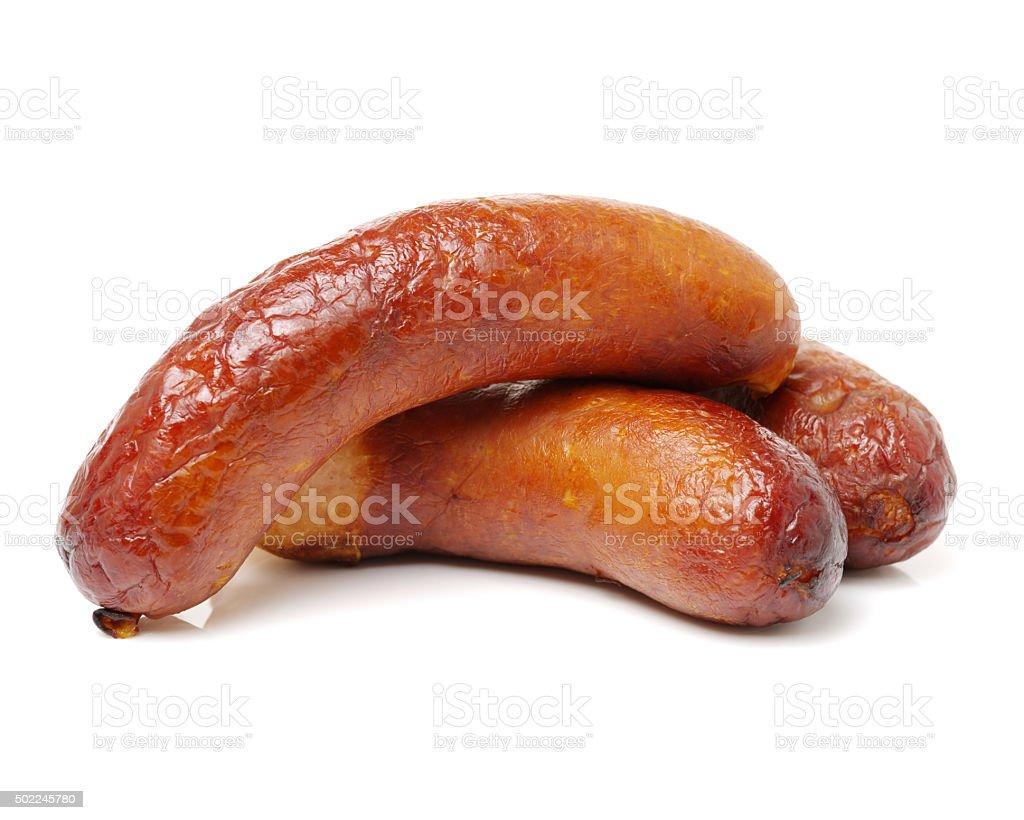 Fresh sausage stock photo