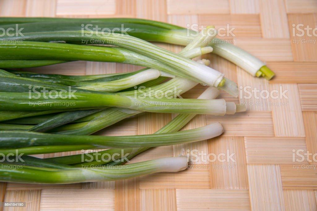 Fresh Scallion(Green Onion) royalty-free stock photo