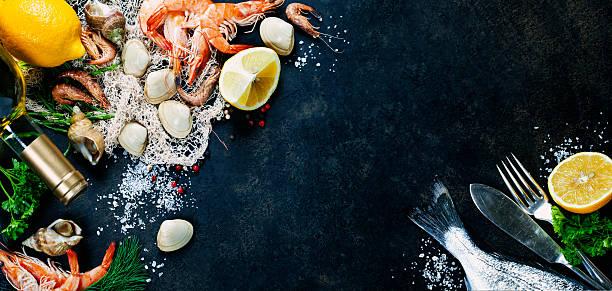 新鮮なシーフード - 魚介類 ストックフォトと画像