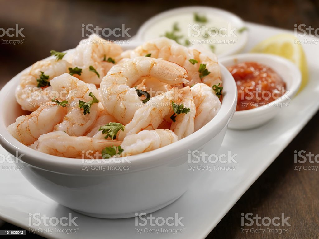Fresh Shrimp stock photo