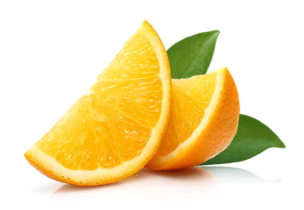 Fresh Slice Orange stock photo