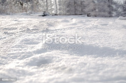 istock Fresh snow cover 639977632