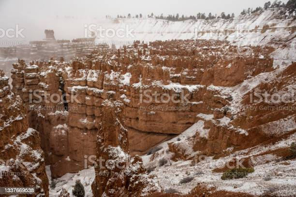 Photo of Fresh Snow Over Bryce Amphitheater