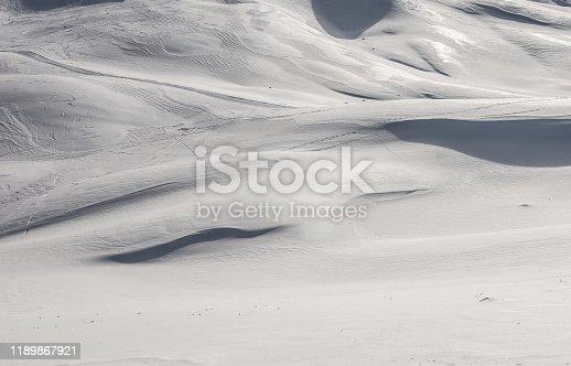 629589448 istock photo Fresh snow surface 1189867921