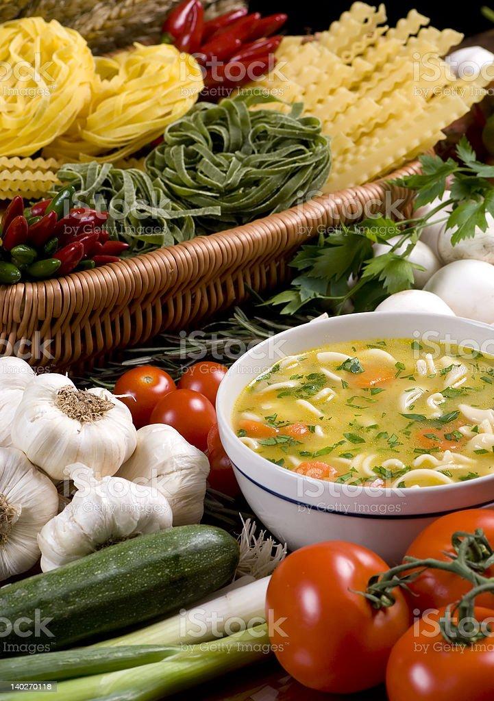 Fresh Soup 3 royalty-free stock photo
