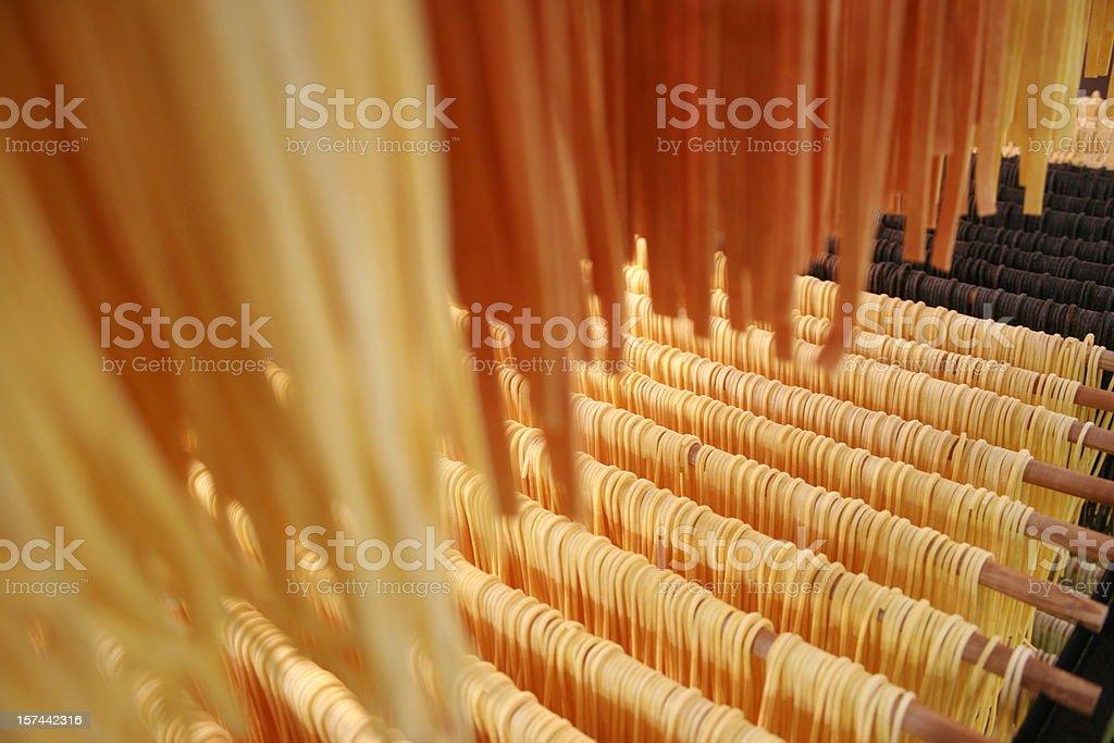 fresh spagetti stock photo