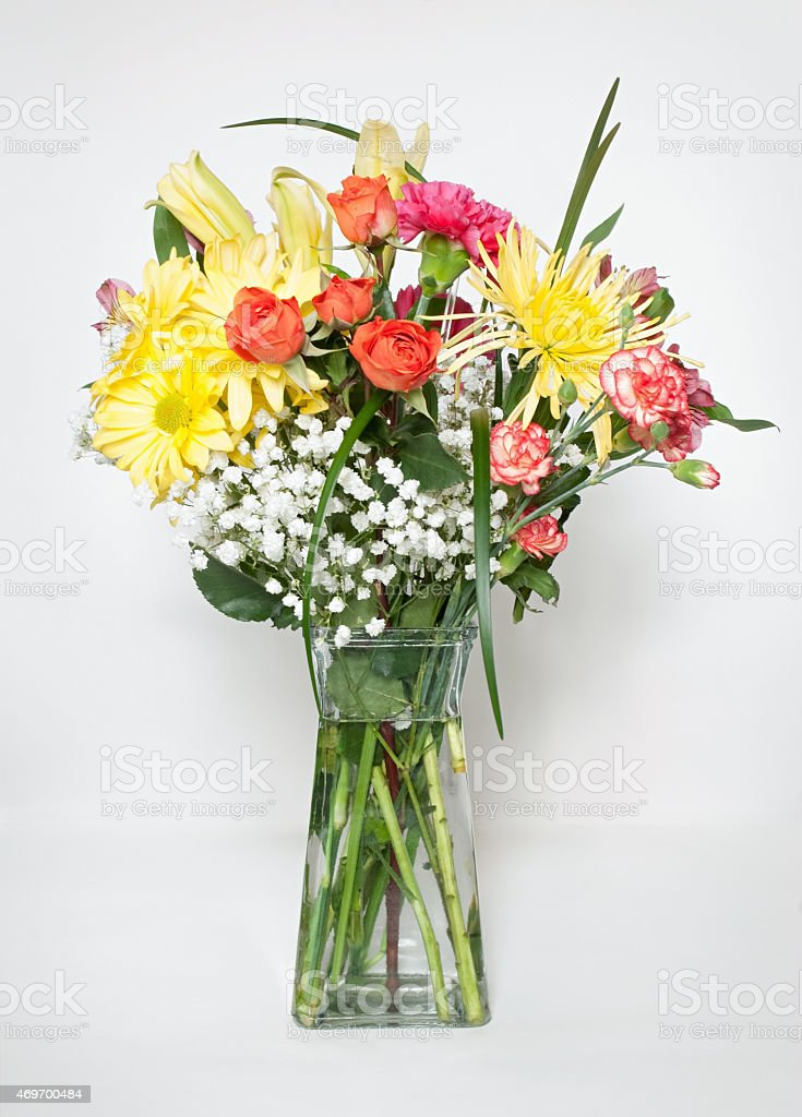 Fresh Spring Bouquet stock photo