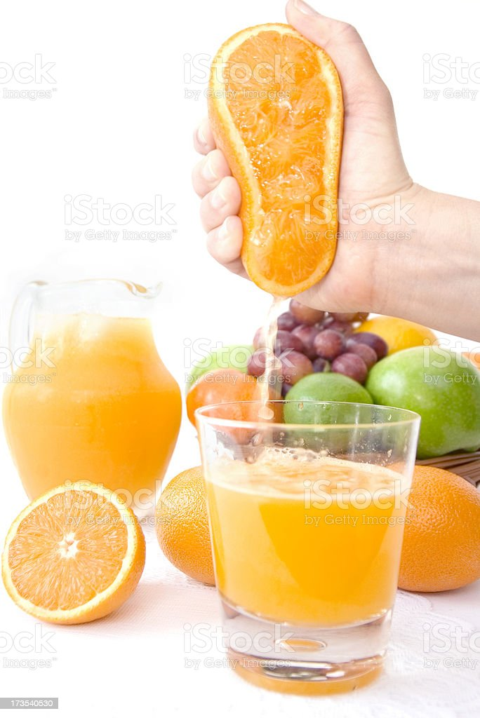 Fresh Squeeze royalty-free stock photo