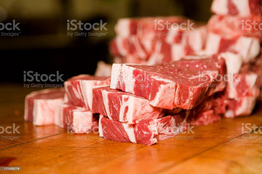 Fresh Steaks royalty-free stock photo