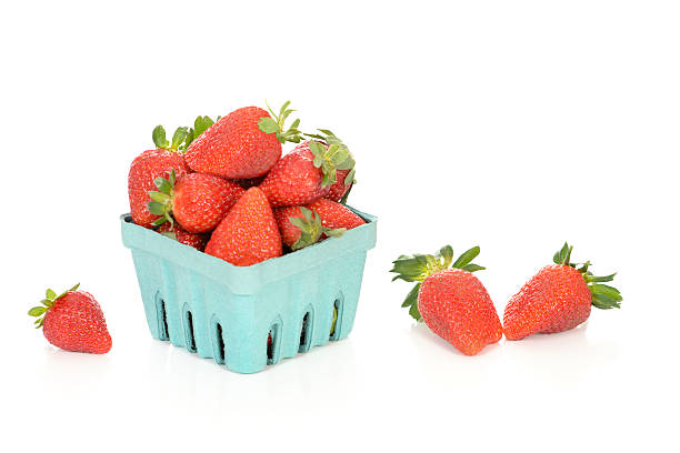 Fresh Strawberries From the Market stock photo