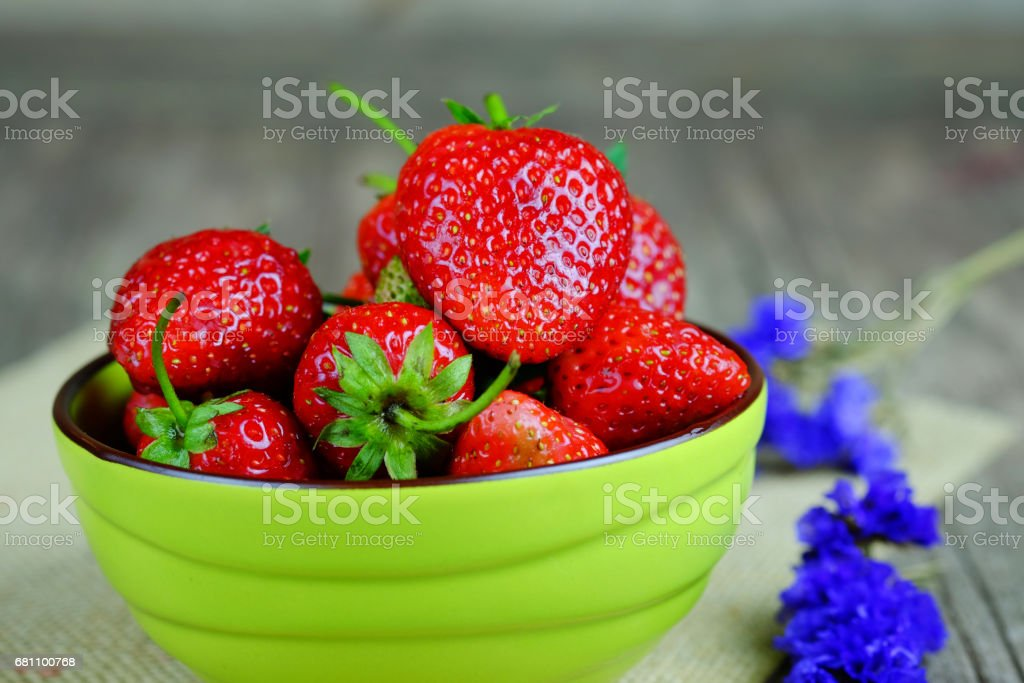 Fresh strawberries. royalty-free stock photo