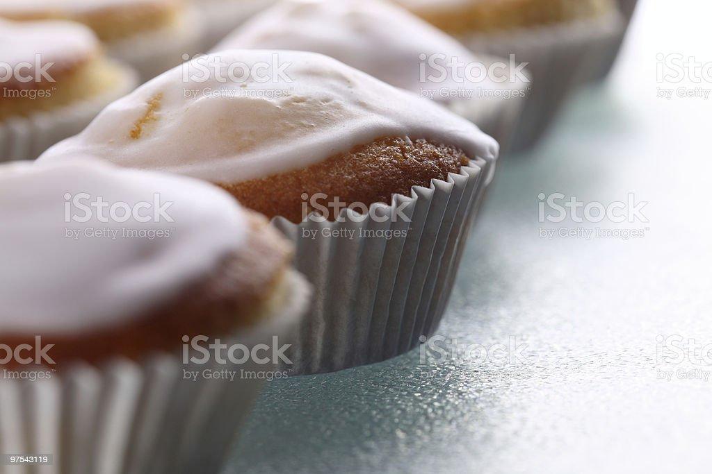 Sucre frais, Muffins photo libre de droits