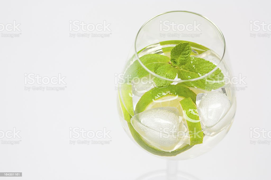 fresh summer cocktail royalty-free stock photo