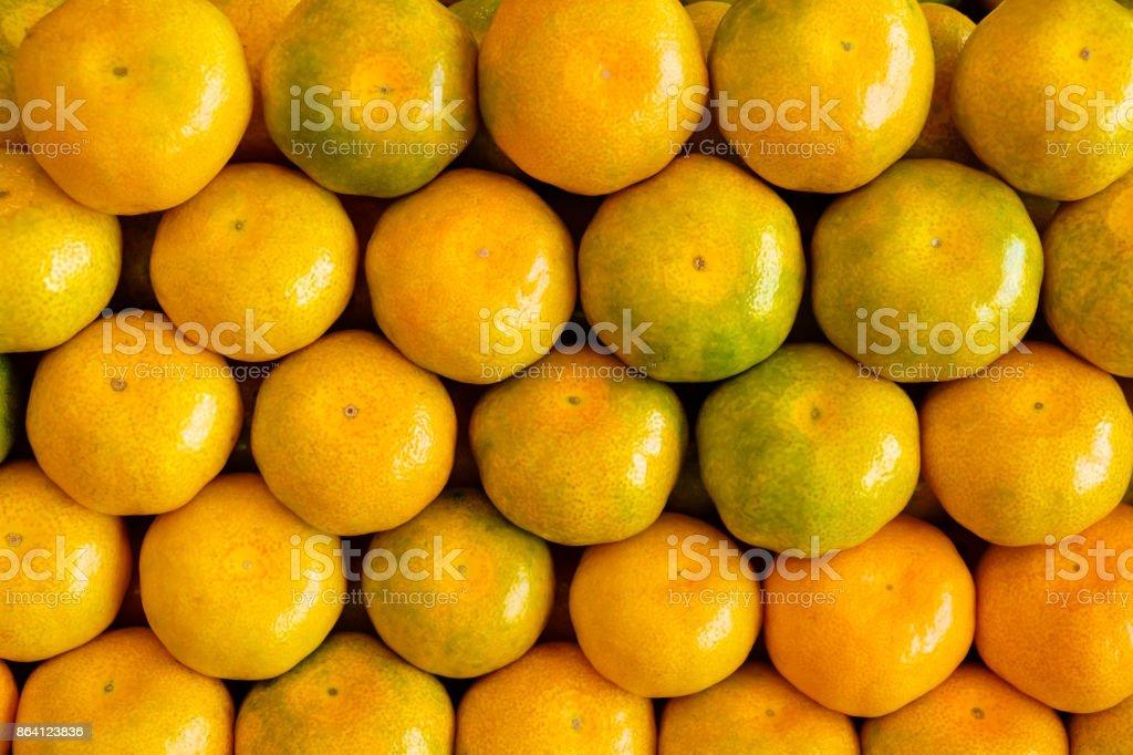 Fresh tangerines background royalty-free stock photo