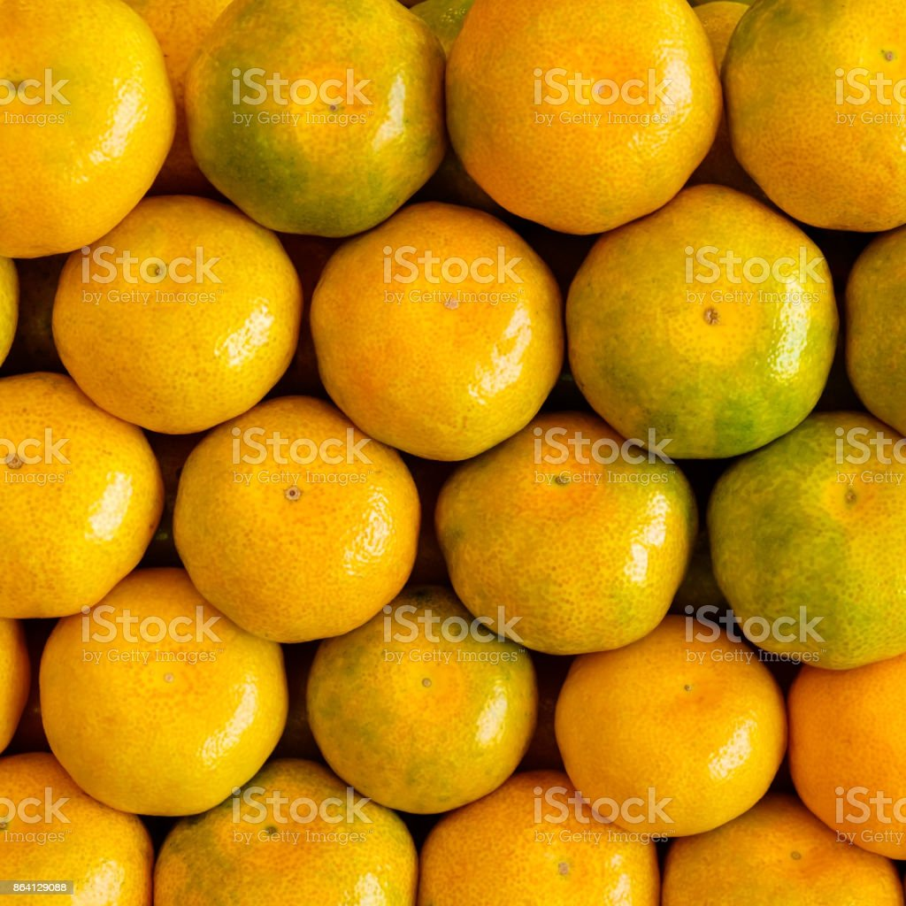 Fresh tangerines background royalty-free stock photo