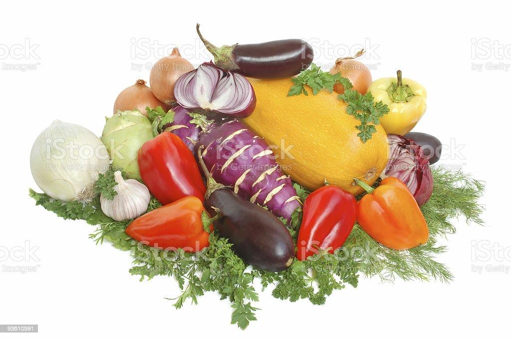 Fresh tasty vegetables royalty-free stock photo
