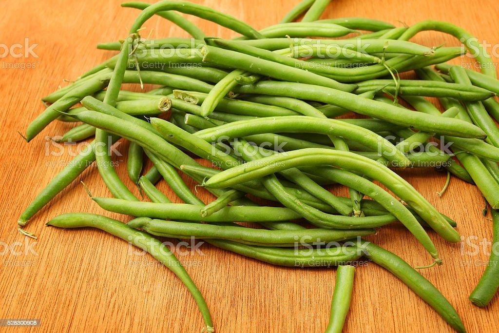 Fresh Tomato and Green Beans stock photo