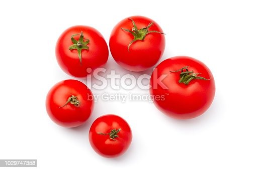 Agriculture,  Dieting, Food, Food and Drink, Freshness, Fruit, Healthcare And Medicine, Healthy Eating, Ingredient, Juicy, Red, Ripe,  Tomato, Vegetable,  Vitality, Vitamin, White Background