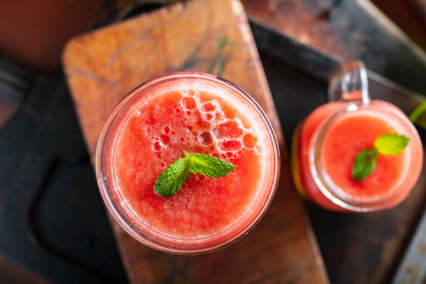 Fresh Tomato Juice stock photo